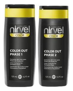 Фото - Корректор косметического цвета Color Out Phase 2*125мл nirvel корректор косметического цвета кислая смывка color out 2х125 мл