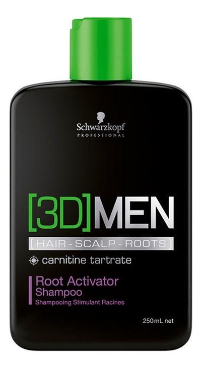Шампунь Активатор роста волос [3D]Men Root Activator Shampoo: Шампунь 250мл