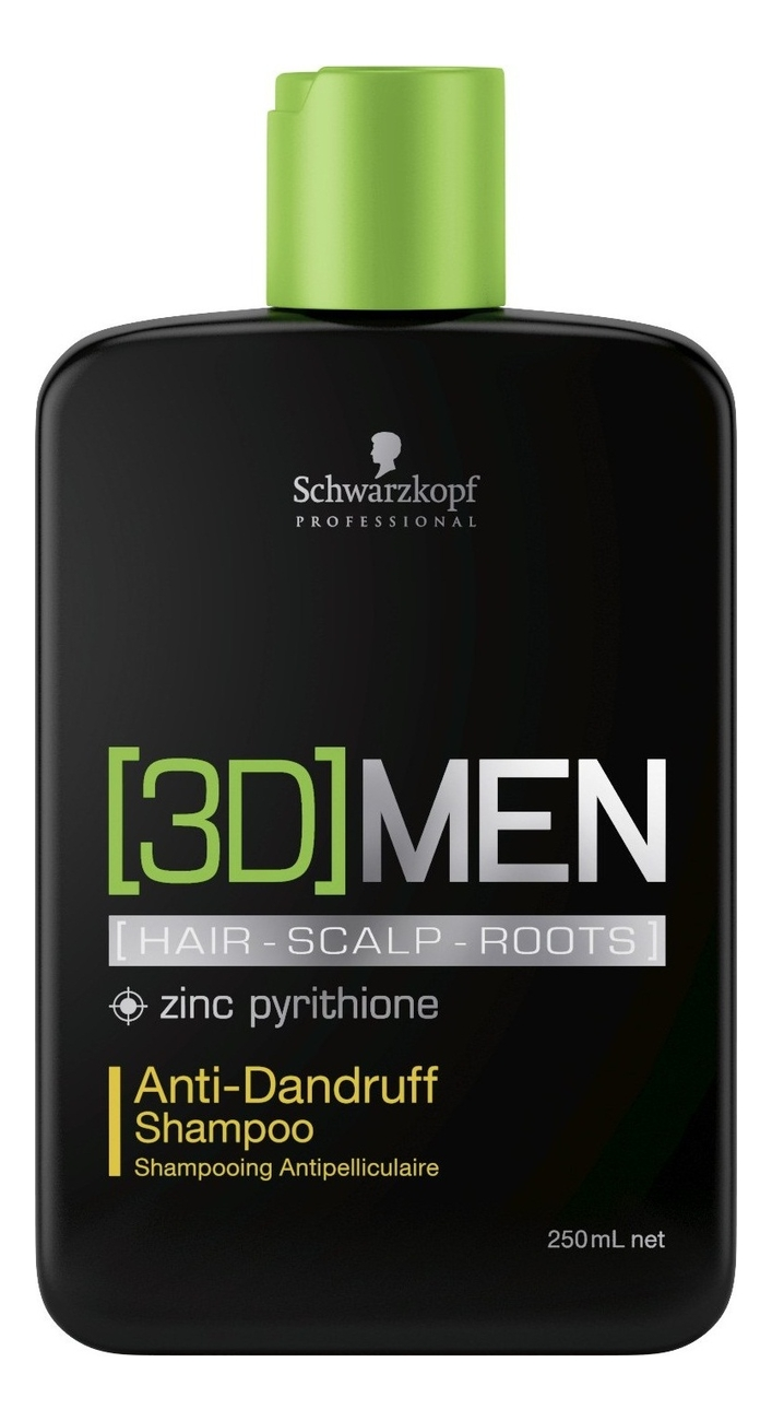 Шампунь против перхоти [3D]Men Anti-Dandruff Shampoo: Шампунь 250мл шампунь против перхоти с кератином anti dandruff shampoo 250мл