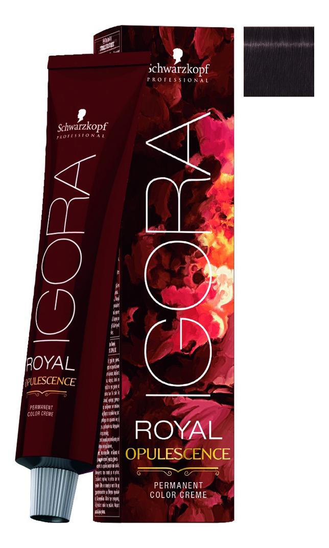Крем-краска для волос Igora Royal Opulescence 60мл: 3-19 Dark Brown Cendre Violet