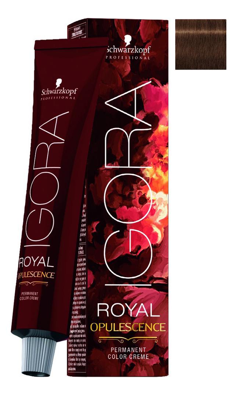 Крем-краска для волос Igora Royal Opulescence 60мл: 5-67 Light Brown Chocolate Copper крем краска для волос igora royal highlifts 60мл 10 0 ultra blonde natural