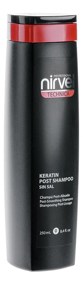 Купить Кератиновый шампунь для волос Keratin Shampoo Post No5: Шампунь 250мл, Nirvel Professional
