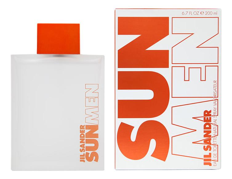 Jil Sander Sun Men: туалетная вода 200мл