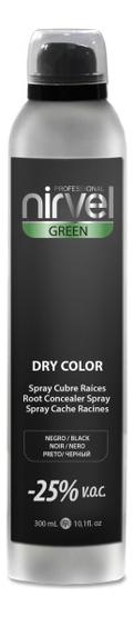 Тонирующий спрей для волос Green Dry Color 300мл: Black тонирующий спрей для волос green dry color 300мл light chestnut