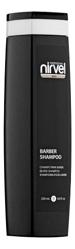 Шампунь для бороды и усов с аргановым маслом Men Barber Shampoo 250мл