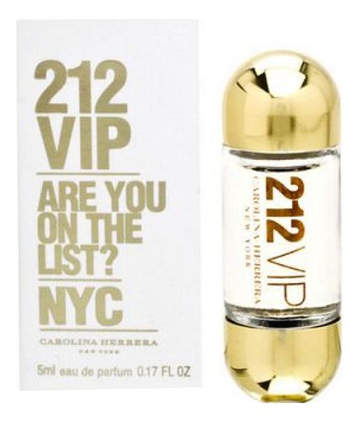 цена Carolina Herrera 212 VIP Woman: парфюмерная вода 5мл онлайн в 2017 году