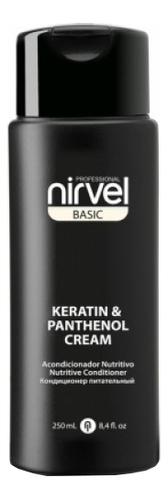Купить Кондиционер-крем для волос питательный с кератином и пантенолом Basic Keratin & Panthenol Cream: Кондиционер-крем 250мл, Кондиционер-крем для волос питательный с кератином и пантенолом Basic Keratin & Panthenol Cream, Nirvel Professional