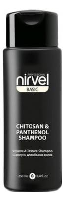 Купить Шампунь для волос с хитозаном и пантенолом Basic Chitosan & Panthenol Shampoo: Шампунь 250мл, Шампунь для волос с хитозаном и пантенолом Basic Chitosan & Panthenol Shampoo, Nirvel Professional