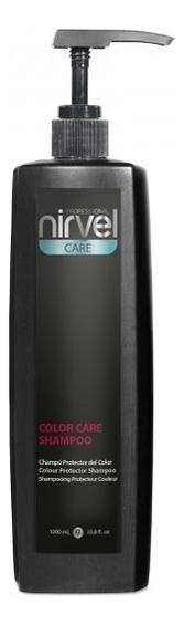 Купить Шампунь для окрашенных волос Care Color Shampoo: Шампунь 1000мл, Nirvel Professional