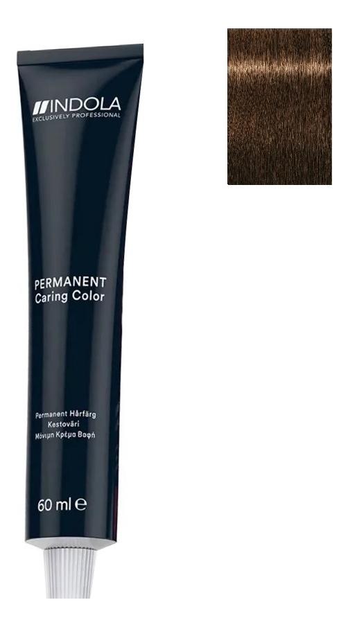 Стойкая крем-краска для волос Permanent Caring Color 60мл: 4.3 Средний коричневый золотистый крем краска для волос indola color red