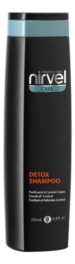 Купить Шампунь против перхоти для раздраженной кожи головы Care Detox Shampoo: Шампунь 250мл, Nirvel Professional