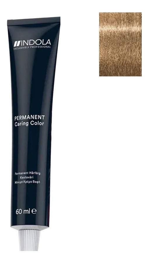 Стойкая крем-краска для волос Permanent Caring Color 60мл: 7.03 Средний русый натуральный золотистый стойкая крем краска для волос permanent caring color 60мл 7 35 средний русый золотистый махагон