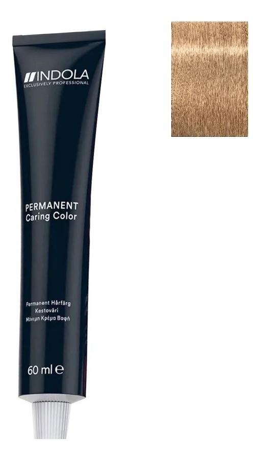 Стойкая крем-краска для волос Permanent Caring Color 60мл: 8.03 Светлый русый натуральный золотистый стойкая крем краска для волос permanent caring color 60мл 5 35 светлый коричневый золотистый махагон