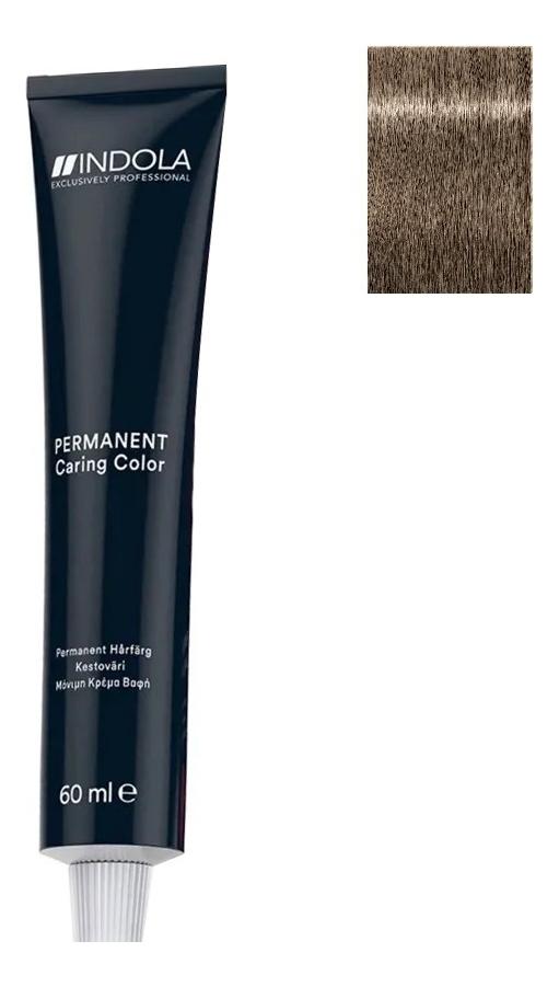 Стойкая крем-краска для волос Permanent Caring Color 60мл: 8.1 Светлый русый пепельный крем краска для волос indola color red