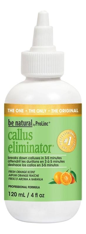 Средство для размягчения и удаления натоптышей Callus Eliminator Orange (апельсин): Крем 118мл be natural средство для удаления натоптышей callus eliminator 540г