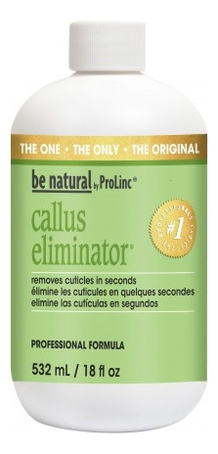 Средство для размягчения и удаления натоптышей Callus Eliminator: Крем 532мл be natural средство для удаления натоптышей callus eliminator 540г