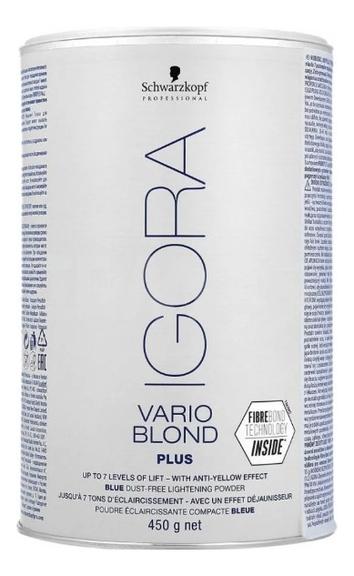 Осветляющий порошок для волос Igora Vario Blond Plus 450г