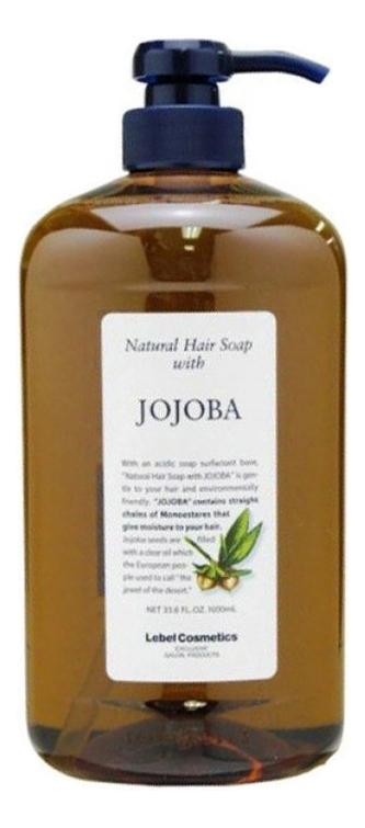 Шампунь для волос с маслом жожоба Natural Hair Soap With Jojoba: Шампунь 1000мл lebel natural hair soap treatment marigold шампунь с календулой 240 мл