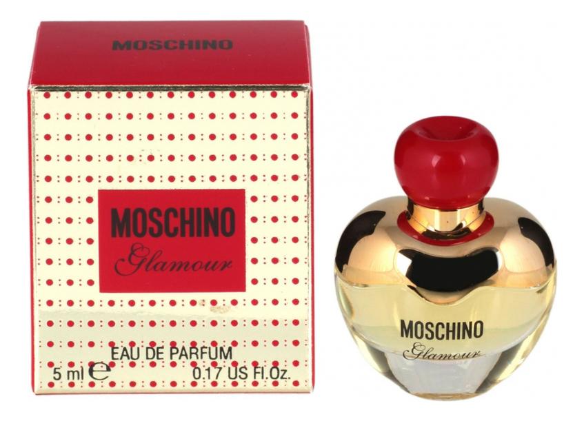 Купить Glamour: парфюмерная вода 5мл, Moschino