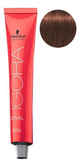 Крем-краска для волос Igora Royal Permanent Color Creme 60мл: 5-6 Light Brown Chocolate фото