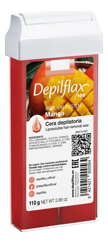 Воск в картридже Манго Mango Liposoluble Hair Removal Wax 110г (прозрачный) wax lyrical диффузор манго и