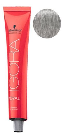 Крем-краска для волос Igora Royal Permanent Color Creme 60мл: 9,5-22 Platinum Blonde Pale Blue фото