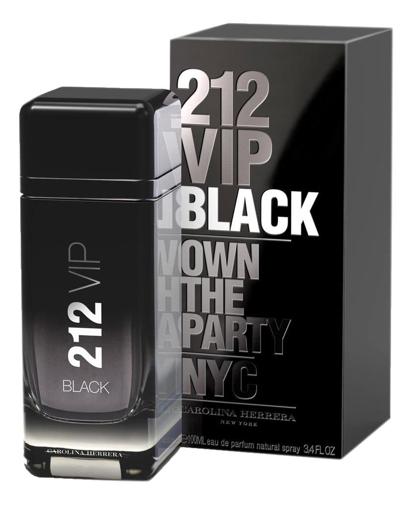 Carolina Herrera 212 VIP Black : парфюмерная вода 100мл