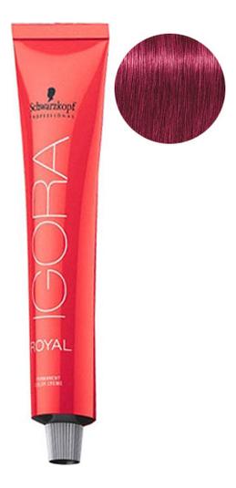 Крем-краска для волос Igora Royal Permanent Color Creme 60мл: 9-98 Extra Light Blonde Violet Red