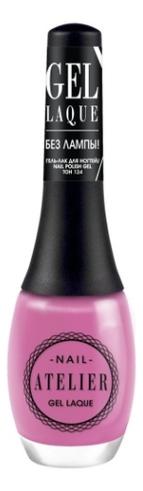 Гель-лак для ногтей Nail Atelier Gel Laque 12мл: No 124 гель лак для ногтей super gel nail polish 12мл 032 coctail passion