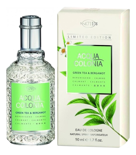 Купить Maurer & Wirtz 4711 Acqua Colonia Green Tea & Bergamot: одеколон 50мл, Maurer & Wirtz 4711 Acqua Colonia Green Tea & Bergamot