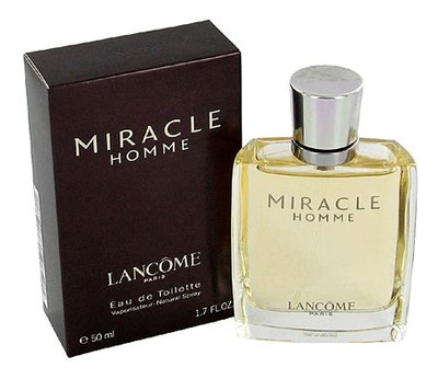 Lancome Miracle Homme: туалетная вода 50мл туалетная вода lancome hypnose homme 75 мл