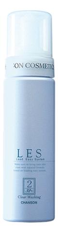 Купить Очищающая пенка для чувствительной кожи LES Clear Washing 180мл, Chanson Cosmetics
