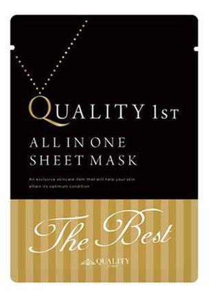 Антивозрастная ультрапитательная чудо-маска для лица All In One Sheet Mask The Best: Маска 3шт антивозрастная маска для лица starting treatment essential mask sheet rose edition 30г маска 1шт