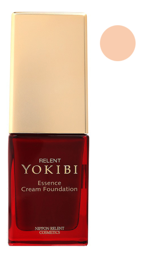 Жидкая крем-пудра для лица Yokibi Essence Cream Foundation SPF15 PA++ 20г: 101 Нежно-розовый