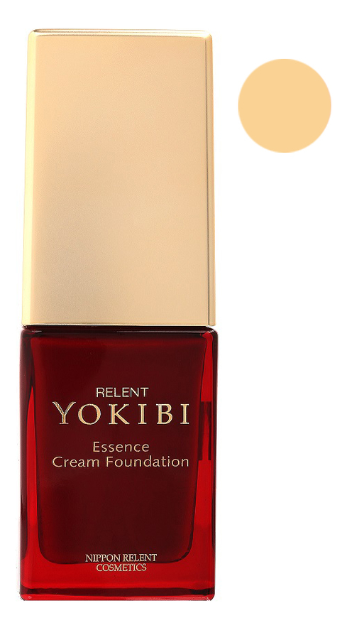 Жидкая крем-пудра для лица Yokibi Essence Cream Foundation SPF15 PA++ 20г: 200 Светлая охра жидкая крем пудра для лица yokibi essence cream foundation spf15 pa 20г 201 охра