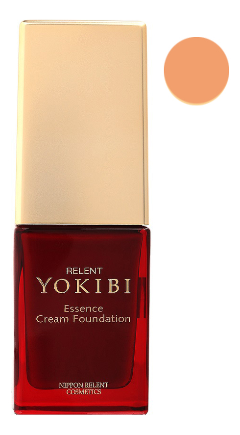 Жидкая крем-пудра для лица Yokibi Essence Cream Foundation SPF15 PA++ 20г: 201 Охра жидкая крем пудра для лица yokibi essence cream foundation spf15 pa 20г 201 охра