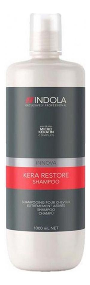 Шампунь для волос Кератиновое восстановление Innova Kera Restore Shampoo: Шампунь 1000мл restore шампунь