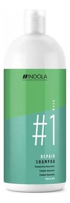 Купить Восстанавливающий шампунь для волос Innova Repair Shampoo: Шампунь 1500мл, Indola
