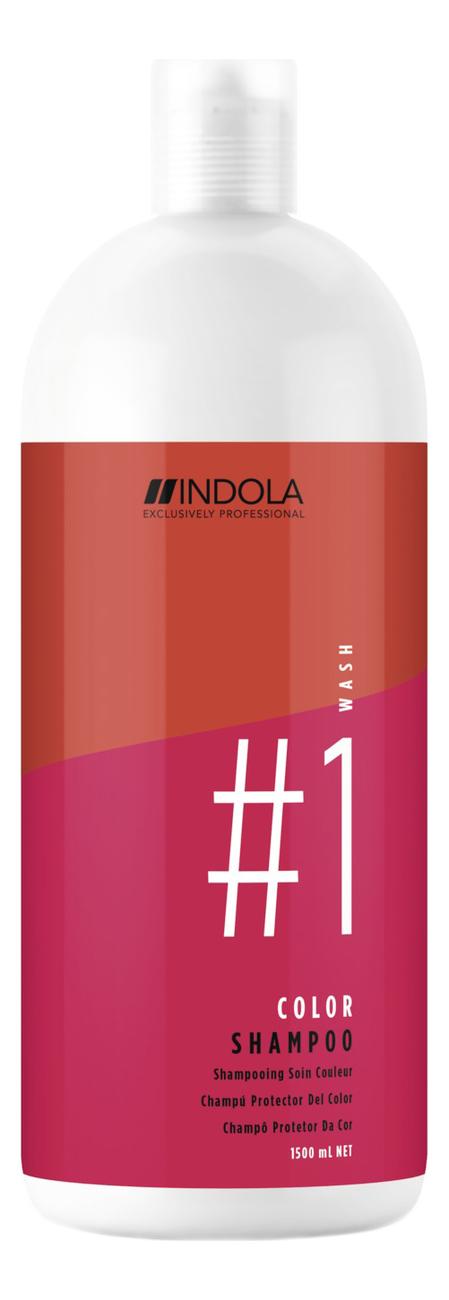 Купить Шампунь для окрашенных волос Innova Color Shampoo: Шампунь 1500мл, Indola