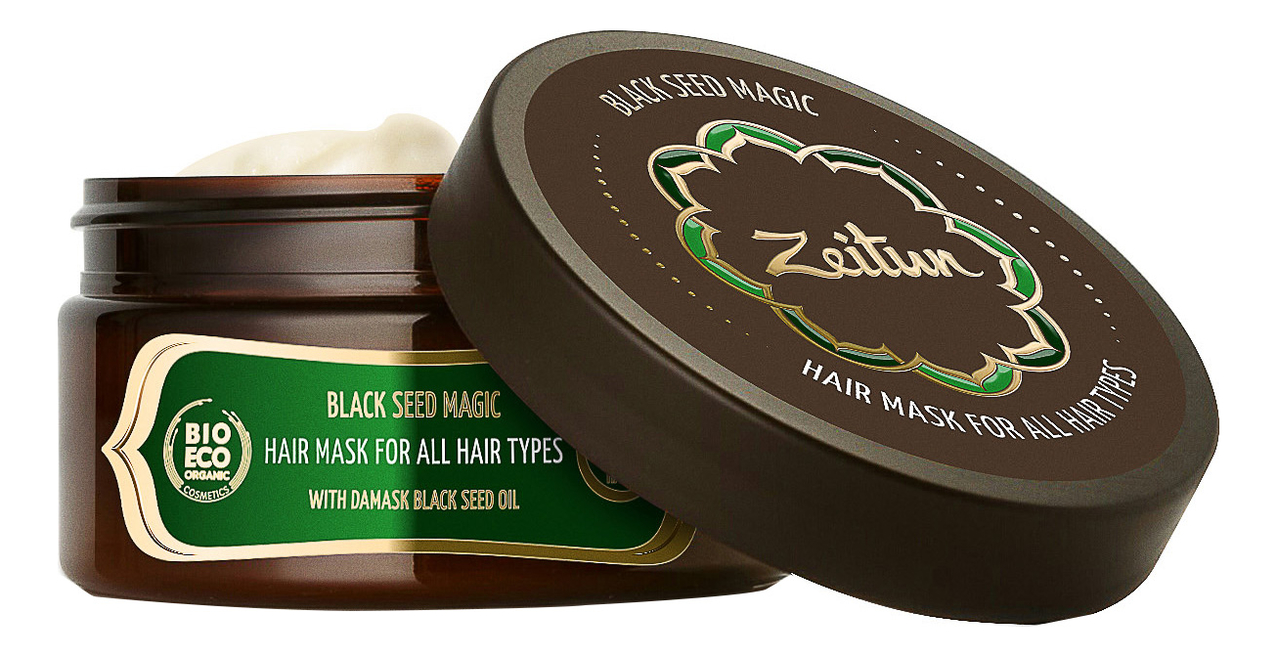 Маска для всех типов волос Магия черного тмина Black Seed Magic 200мл chi luxury black seed oil curl defining cream gel