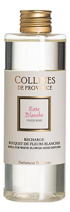 Купить Наполнитель для диффузора Fleurs Blanches 200мл: White Rose, Collines de Provence