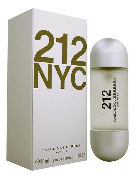Купить 212 NYC: туалетная вода 30мл, Carolina Herrera
