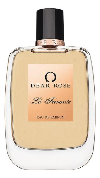 Dear Rose La Favorite: парфюмерная вода 100мл тестер dear rose i love my man туалетные духи тестер 100 мл