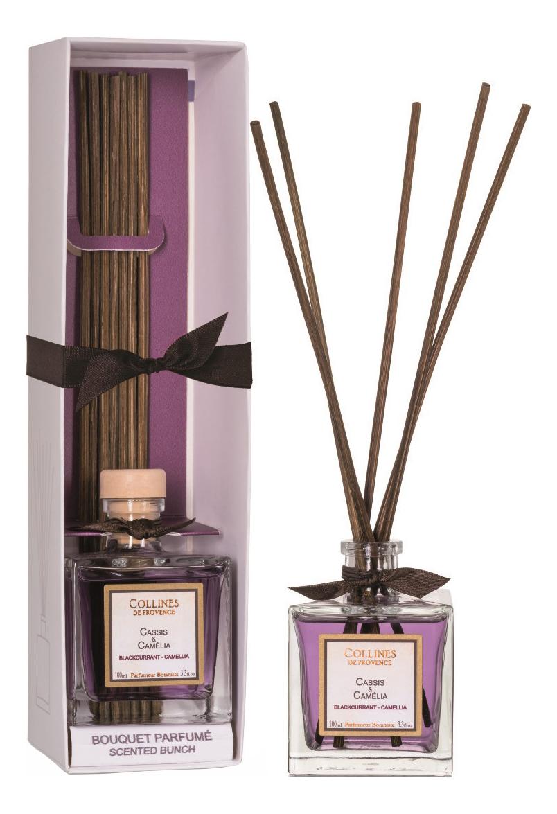 Купить Ароматический диффузор Accords Parfumes 100мл: Blackcurrant-Camellia, Collines de Provence