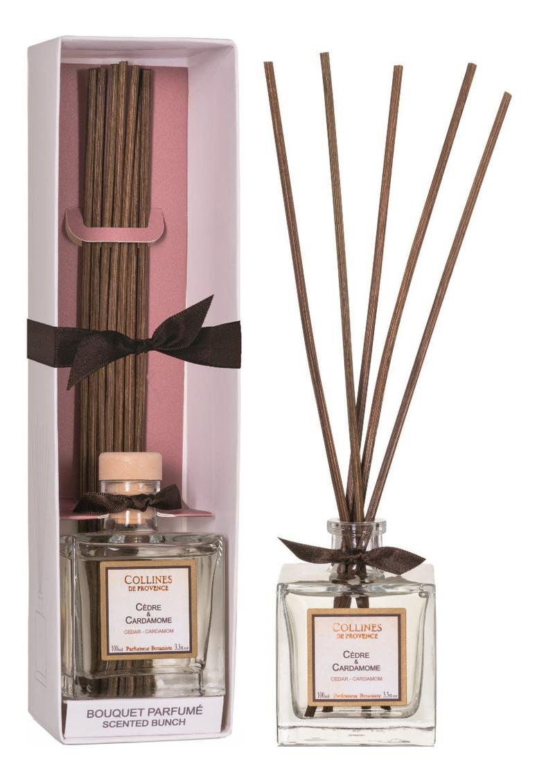 Купить Ароматический диффузор Accords Parfumes 100мл: Cedar-Cardamom, Collines de Provence