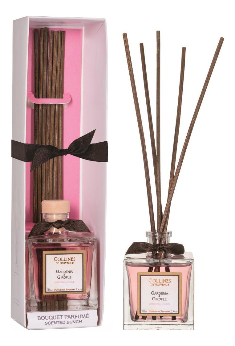 Купить Ароматический диффузор Accords Parfumes 100мл: Gardenia Clove, Collines de Provence