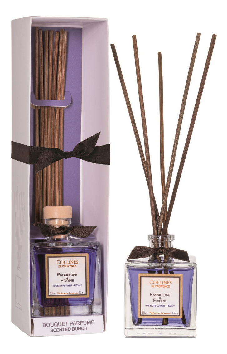 Купить Ароматический диффузор Accords Parfumes 100мл: Passionflower-Peony, Collines de Provence