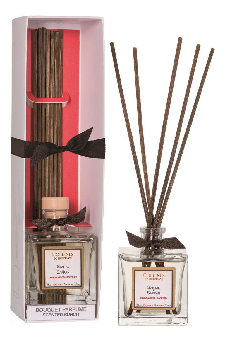 Купить Ароматический диффузор Accords Parfumes 100мл: Sandalwood-Saffron, Collines de Provence