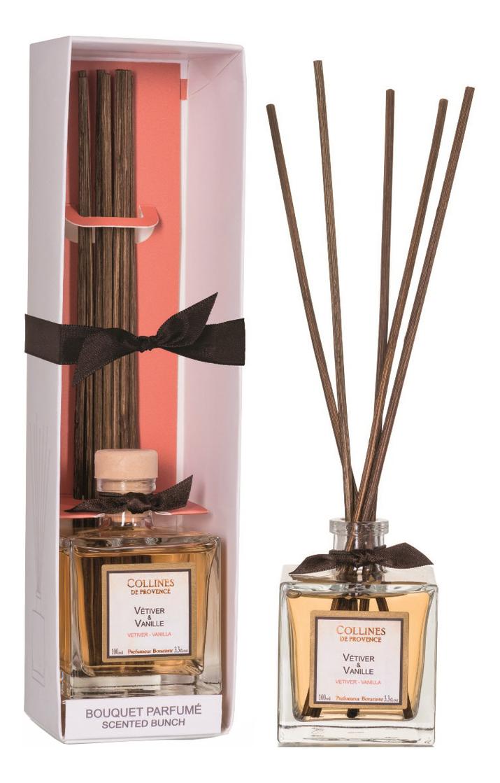 Купить Ароматический диффузор Accords Parfumes 100мл: Vetiver-Vanilla, Collines de Provence