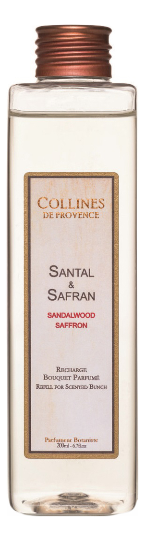 Наполнитель для диффузора Accords Parfumes 200мл: Sandalwood-Saffron